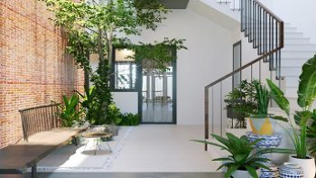 Những cách chống nóng giảm nhiệt hiệu quả cho nhà 1 tầng.