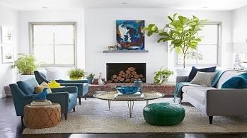 Những gợi ý giúp nới rộng không gian phòng khách một cách hiệu quả.