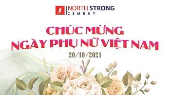 Xi măng NorthStrong – Chúc mừng ngày phụ nữ Việt Nam 20/10
